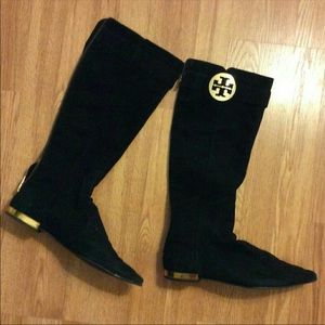 Tory Burch boots used size 10